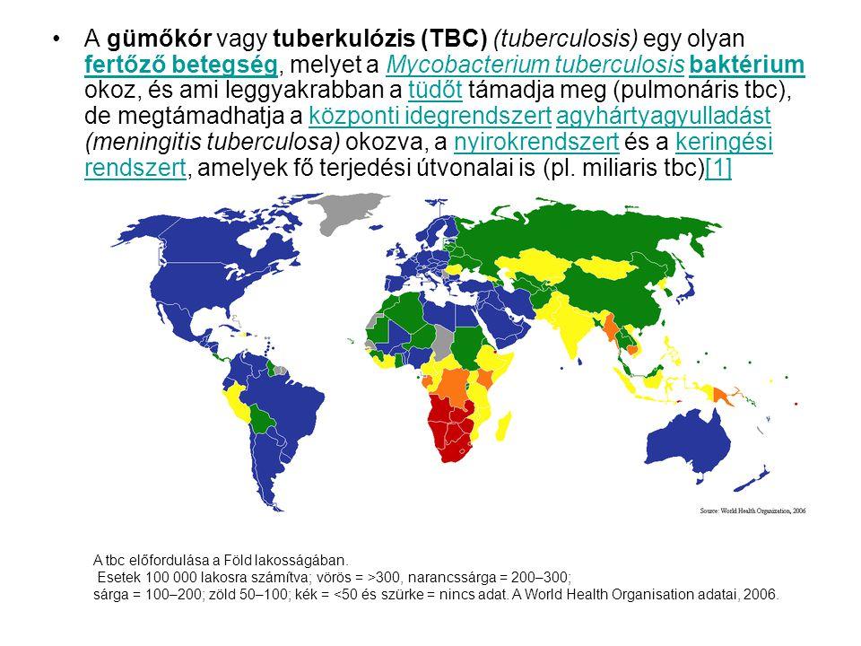 A gümőkór vagy tuberkulózis (TBC) (tuberculosis) egy olyan fertőző betegség, melyet a Mycobacterium tuberculosis baktérium okoz, és ami leggyakrabban a tüdőt támadja meg (pulmonáris tbc), de megtámadhatja a központi idegrendszert agyhártyagyulladást (meningitis tuberculosa) okozva, a nyirokrendszert és a keringési rendszert, amelyek fő terjedési útvonalai is (pl. miliaris tbc)[1]